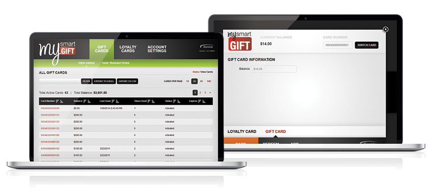 mySmartGift Interface